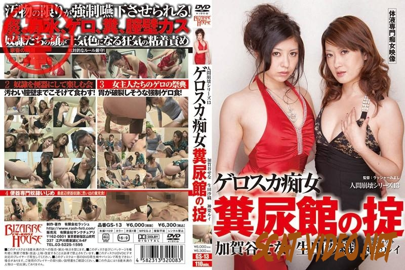 GS-13 Slave slut eating human excreta and drink urine (2018) [SD/040.0871_GS-13]