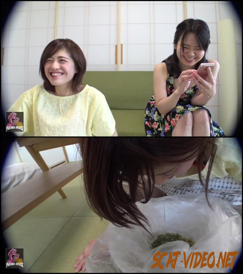 BFJV-12 Girls Puking Together スローアップ女の子 Forced Vomit (2018) [FullHD/080.0641_BFJV-12]