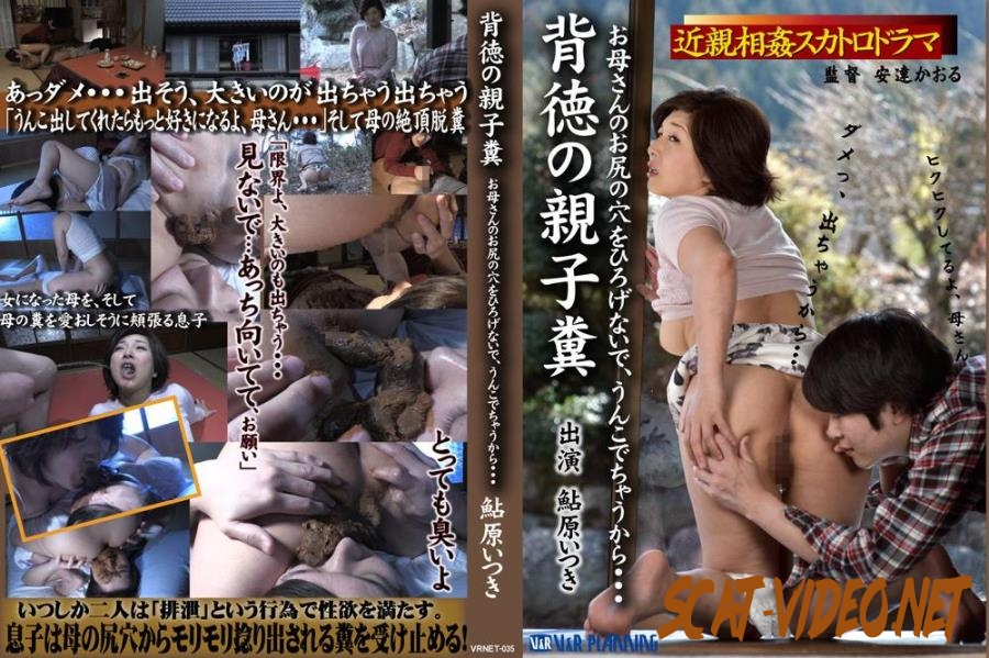 VRNET-035 Exclusive incest scat Ikihara Atsuki mother and son coprophagy sex (2018) [FullHD/234.1847_VRNET-035]