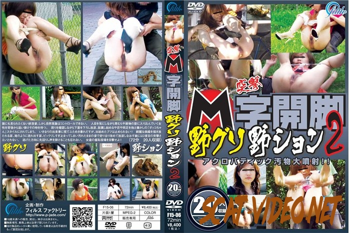 F15-06 突撃 M字開脚野グソ野ション 2 投稿 ジェイド Peeing and Pooping Outdoors (2018) [SD/138.0570_F15-06]