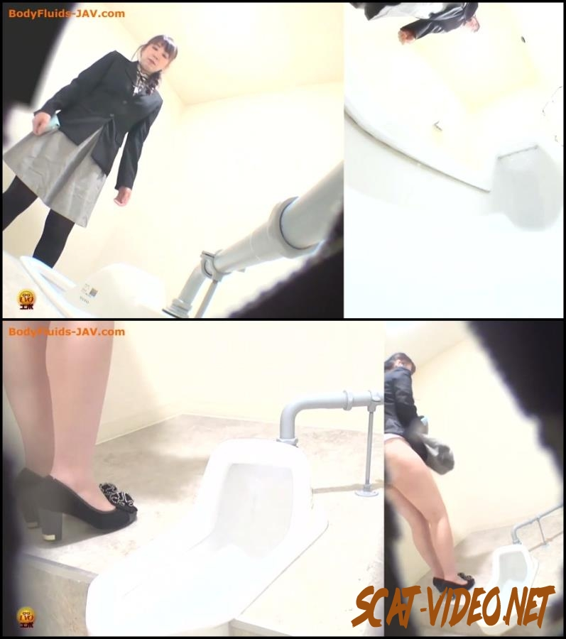 BFEE-42 Japanese girl prolongation defecation in public toilet (2018) [FullHD/096.1916_BFEE-42]