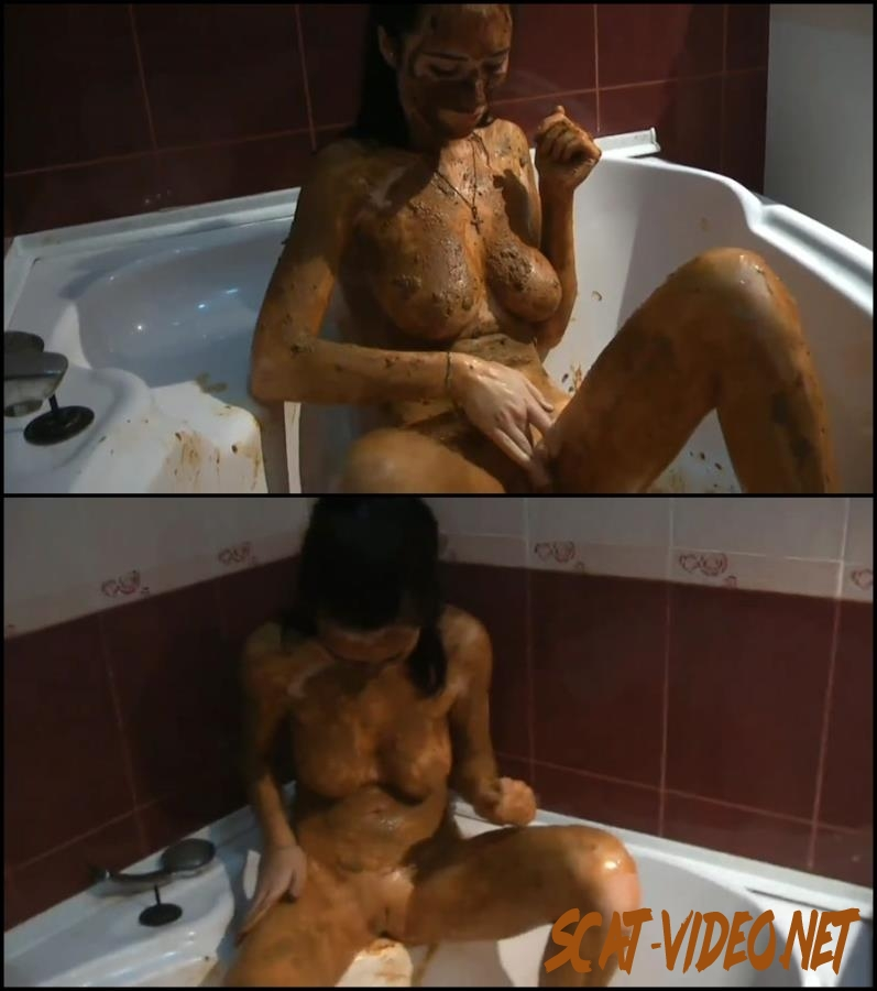 [Special #110] Russian girl covered feces masturbated in bath (2018) [FullHD/200.0110_BFSpec-110]