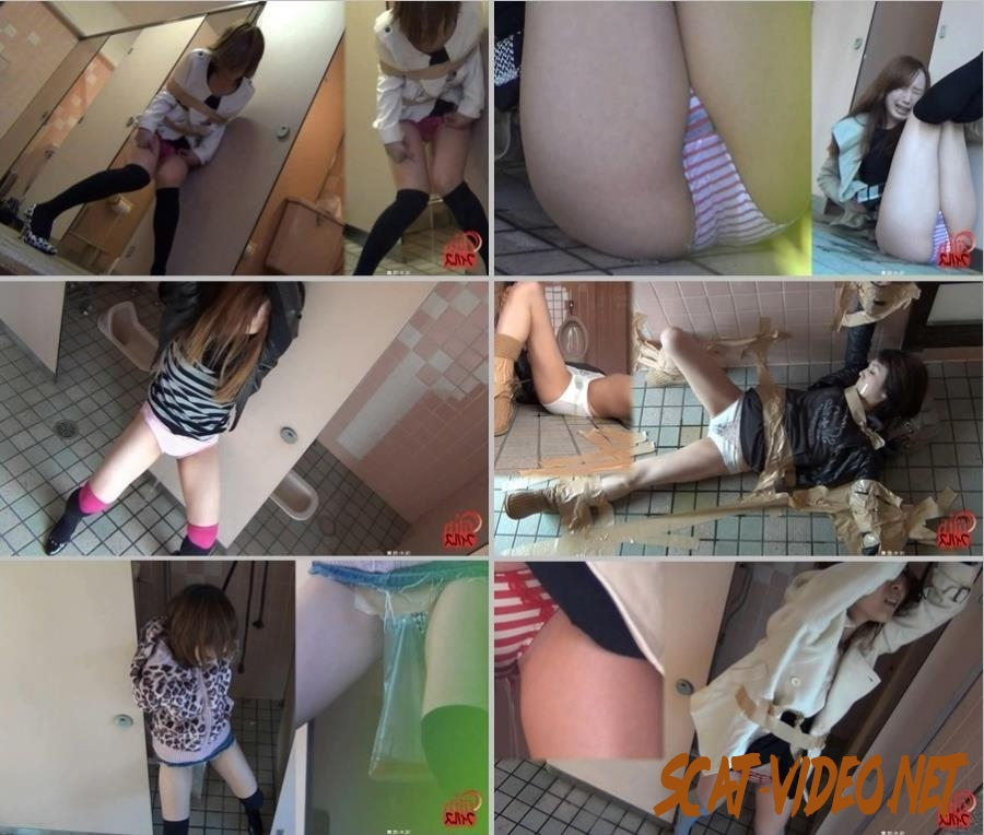 F82-01 Girls left tied up Shamefull pee in panties observation (2018) [HD/214.0156_F82-01_1]
